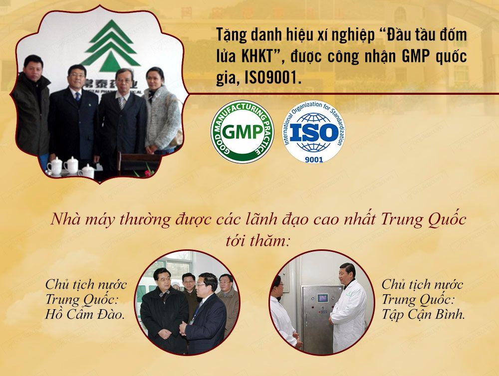 Công ty thái diên an - đơn vị sản xuất an cung ngưu uy tín chất lượng